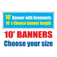 10' Vinyl Banners