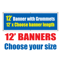12' Vinyl Banners