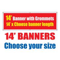 14' Vinyl Banners