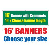 16' Vinyl Banners