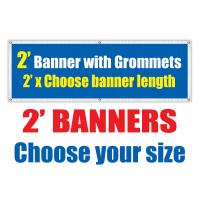 2' Vinyl Banners