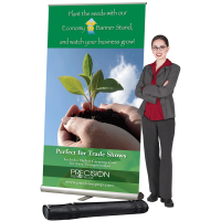 4' Economy Pop-Up Banner Stand
