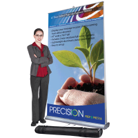 4' Two-Sided Pop-Up Banner Stand