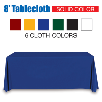 8' Tablecloth Solid Color