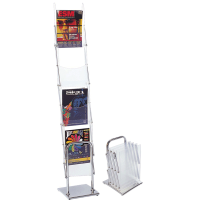 Chrome Brochure Display