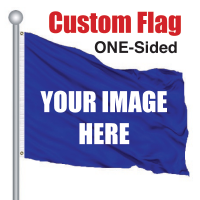 5' x 7' Cusom Pole Flag ONE SIDED