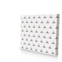 10' Straight Pop Up Fabric Display