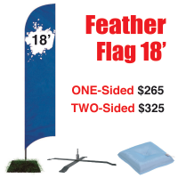 18' Feather Flag