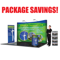 10' Curved Deluxe Trade Show Package