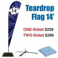 14'Teardrop Flag