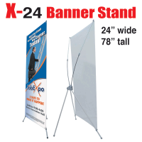 X Banner Stand 24