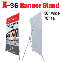 X Banner Stand 36