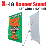 X Banner Stand 48